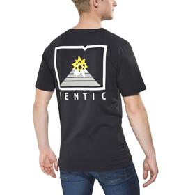 Gentic New School t-shirt Heren zwart